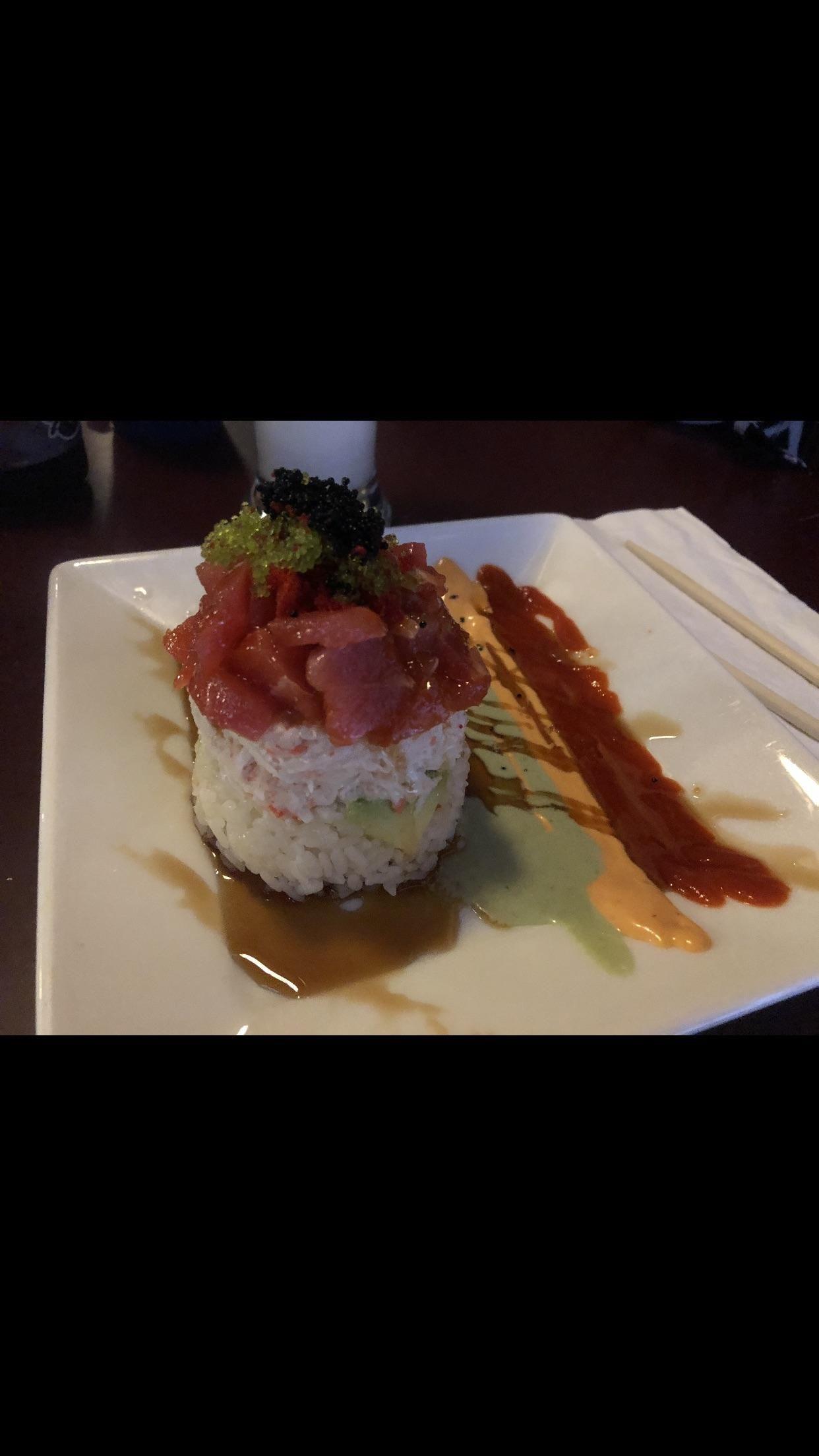 Ahi tower wichita falls tx sakura food best sushi