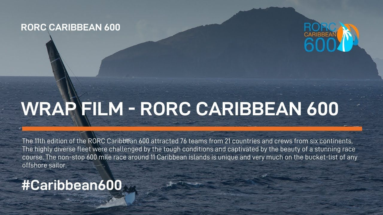 Wrap Film 2019 RORC Caribbean 600