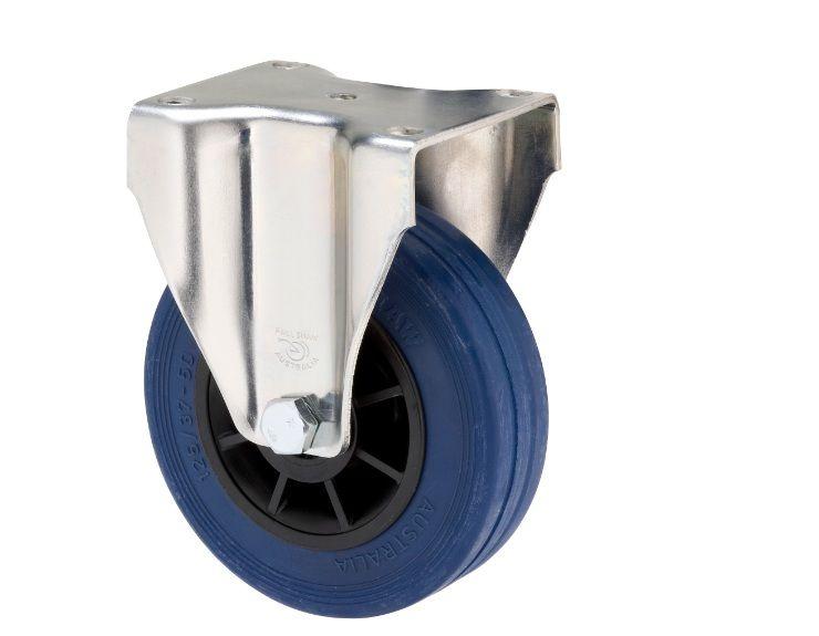 Jbr125 Jzf Fixed Blue Rubber 125mm Castor Castor Rubber Electric Shaver