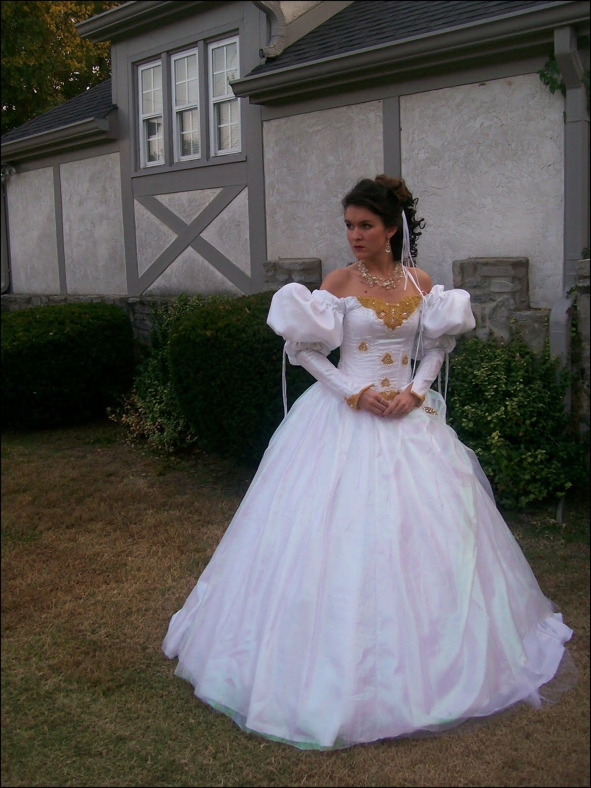 Labyrinth Ball Gown Costume | A Fashion | Pinterest | Ball gowns ...