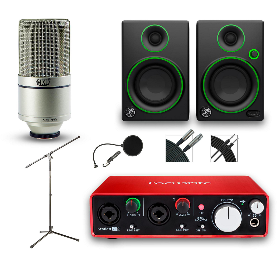 This functional recording package puts it all together for you, with