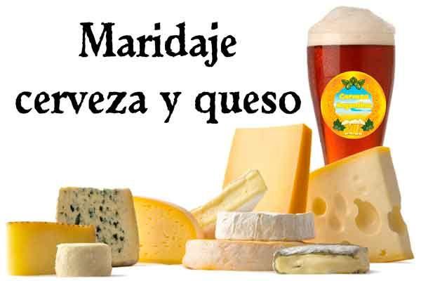 Maridaje entre cerveza y queso