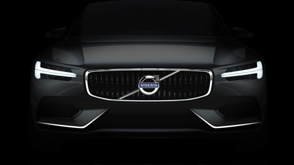 Volvo Concept Coupe Sports Huge Touchscreen Crystal Gear Lever Volvo Cars Volvo Volvo S90
