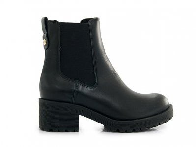 Wyprzedaz Botki Slupek Czarne Wloska Skora 50 6359069044 Oficjalne Archiwum Allegro Chelsea Boots Rain Boots Boots