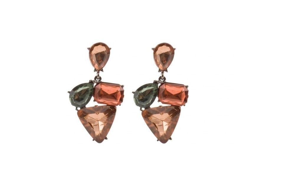 Papaya Earrings! PARFOIS  Handbags and accessories online