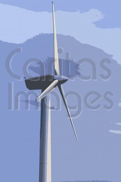 Jenette Coldrick; Wind turbine