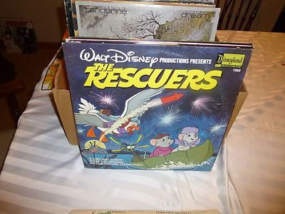 The Rescuers Story & Songs From Motion Picture LP Disneyland Records #1369