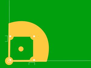 Clipart Baseball Diamond Baseball Diamond Baseball Bases Play Baseball