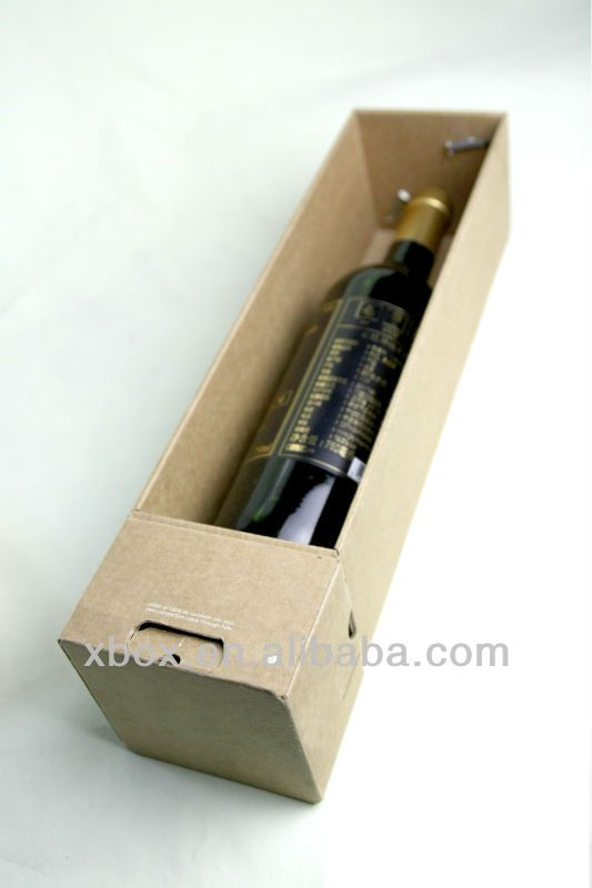 customize 3D design for sampling  minimal reject and defect  competent manufacturer  corrugated cardboard wine boxes