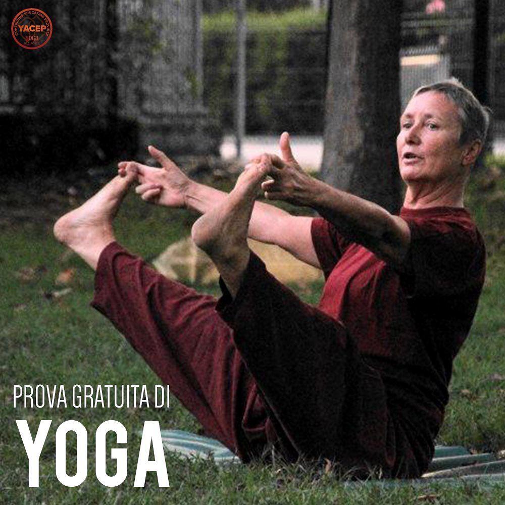 Martedì 24 Settembre ti aspetta la nostra prima lezione di #Yoga con la celebre #AlexandraVanOosteru...