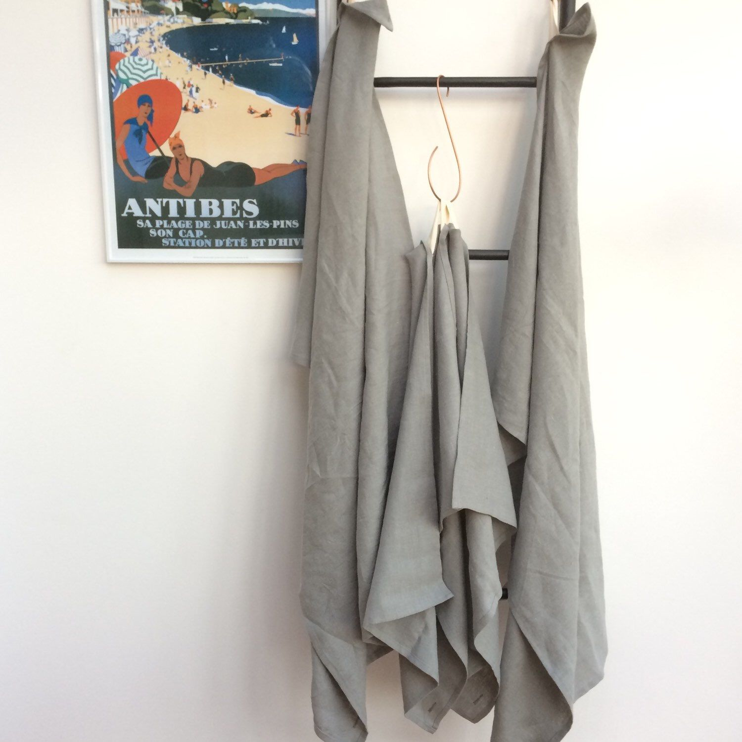 •NEW•  100% Linen Towels - These are just perfect for the bathroom, travel, beach & the gym•