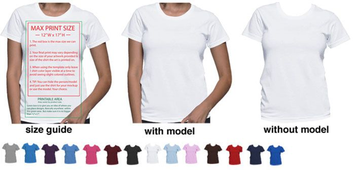 shirt-mockups 41 Blank T-Shirt Vector Templates Free To Download ...