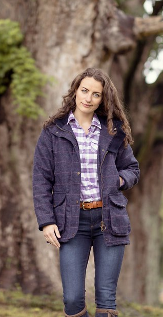 Tweed Woman Coat Country Outfits Country Clothing Uk Country Wear