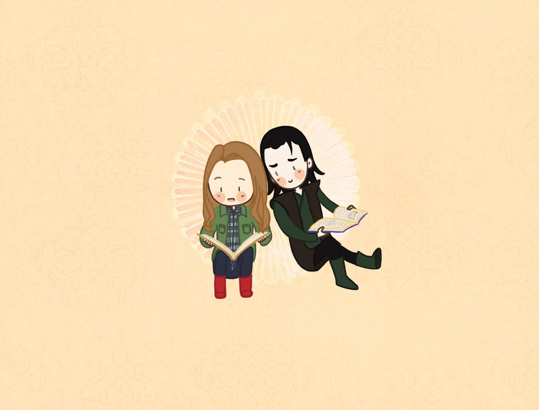 Loki And Jane by PetiteAya.deviantart.com on @deviantART