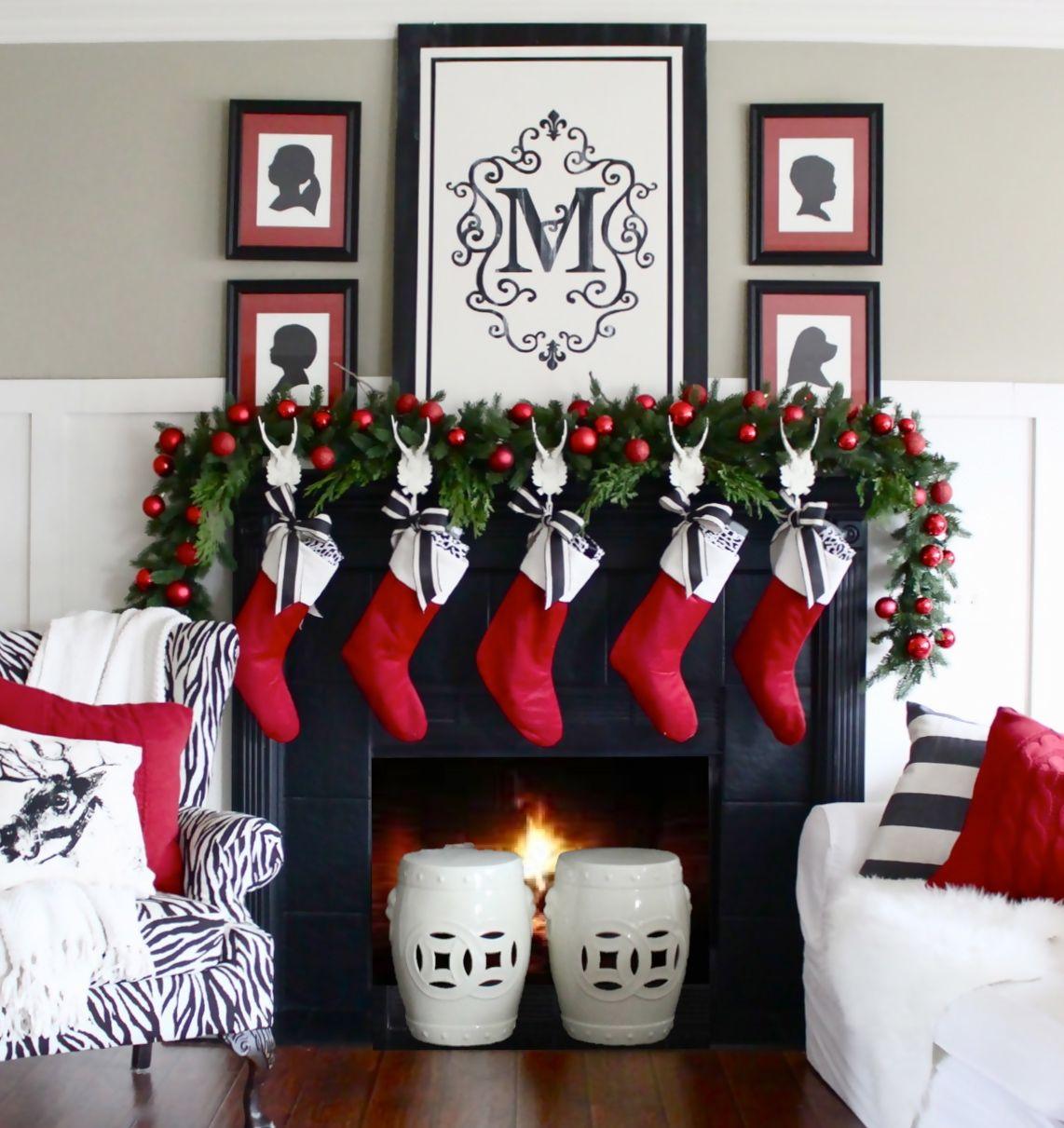 Christmas home tour 2014 navidad pinterest felices - Decoracion fiesta navidena ...