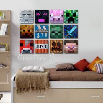 Amazing Minecraft Bedroom Decor Ideas! DIY crafts and gifts