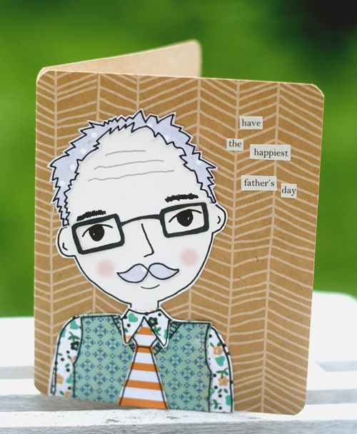 DIY Fathers Day Cards From Kirsty Neale and Papercraft Inspirations