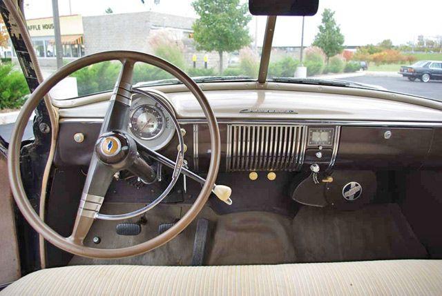 1949 Chevy Dash 1949 Chevrolet Deluxe Hotrod
