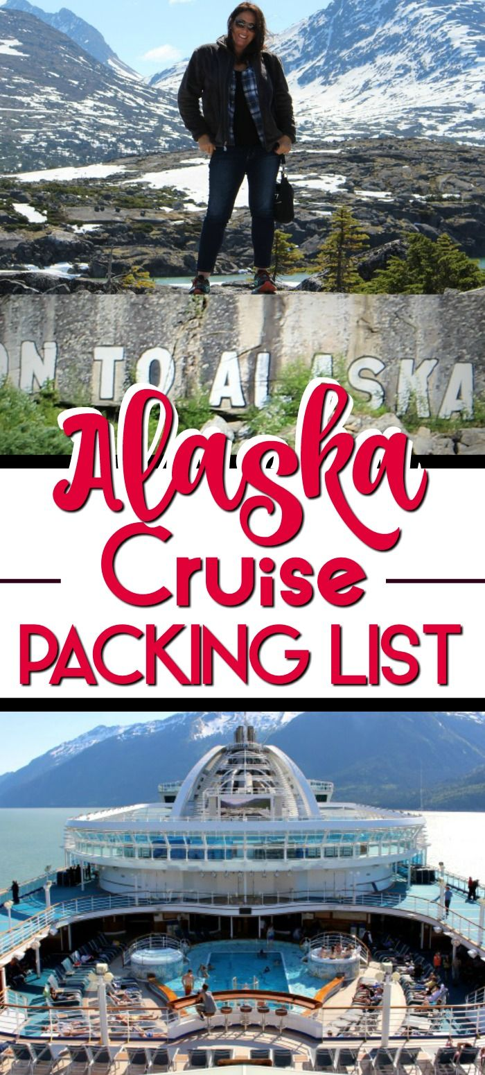 Alaskan Cruise Packing List #summercruiseoutfits
