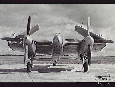 de Havilland DH.103 Sea Hornet TT213 (A83-1) Laverton AWM 128039 - BFD