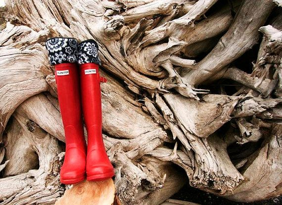 Fleece Boot Liners; perfect for the Pacific Northwest. #boot #liner #cozy #handmade