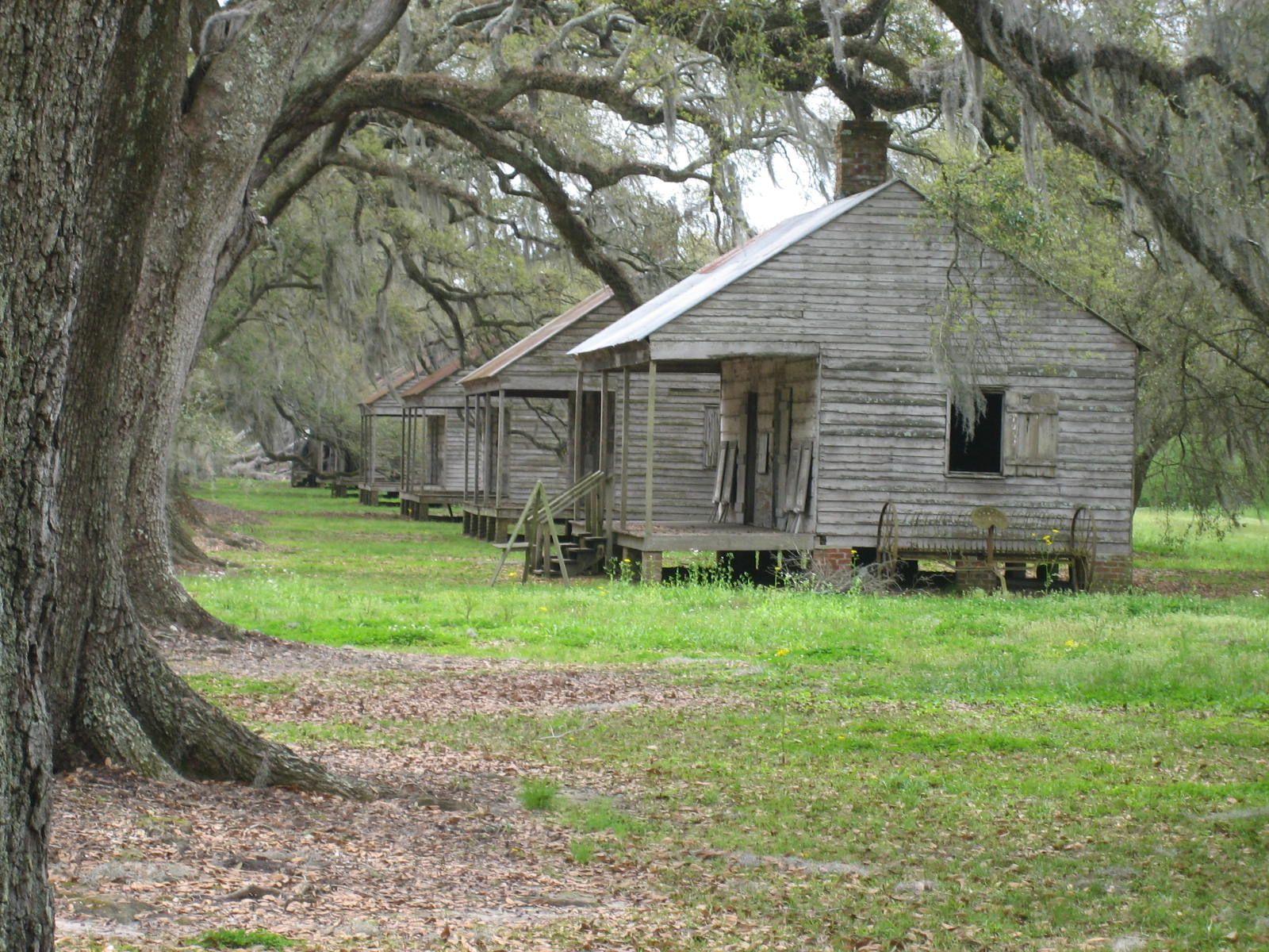 Slave's quarters, Oak Alley Plantation, Louisiana Lost