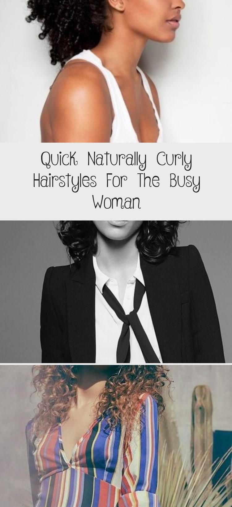 Quick Naturally Curly Hairstyles For The Busy Woman – Hairstyle