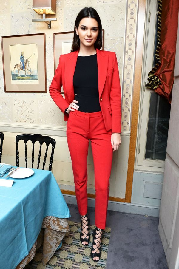 Business casual done right. #refinery29 http://www.refinery29.com/kendall-jenner-style#slide-14