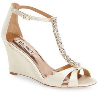 Women's Badgley Mischka 'Romance' Wedge Sandal
