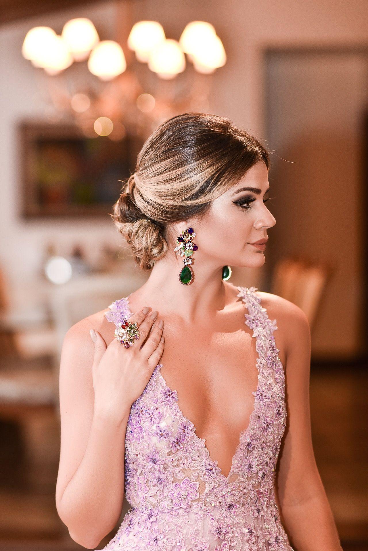 Look do dia: Madrinha de Casamento | Floor length prom ...