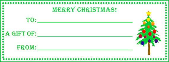 Make gift certificates with homemade gift certificate ideas Make