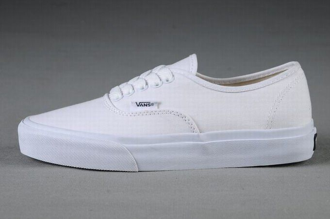 Vans Authentic Classic All White Womens Shoes #Vans