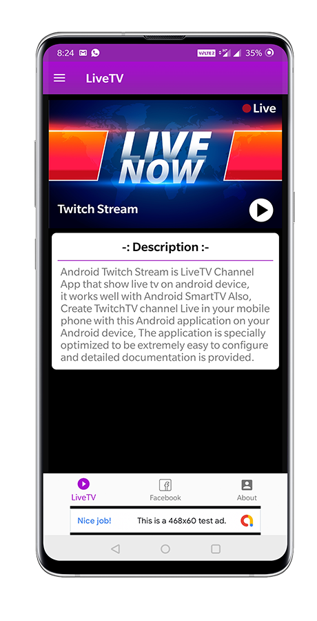 Live Tv Streaming App For Twitch In 2020 Live Tv Streaming Live Tv Streaming