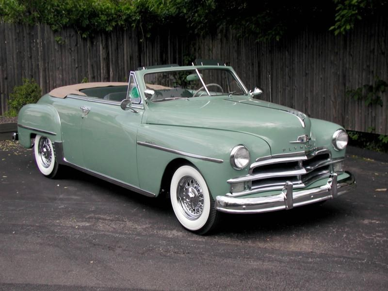 1950 Plymouth Deluxe Maintenance/restoration of old/vintage vehicles ...