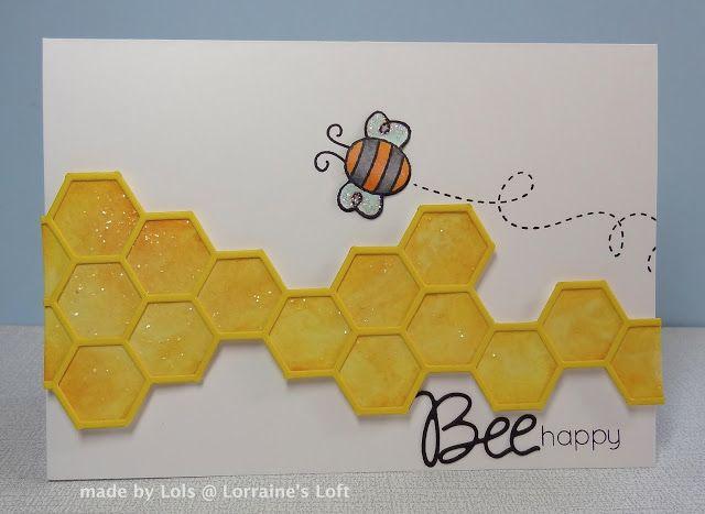 Lorraine's Loft: Bee Happy http://loraquilina.blogspot.com/2013/06/bee-happy.html