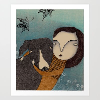 You and I Art Print by Judith Clay - $19.50