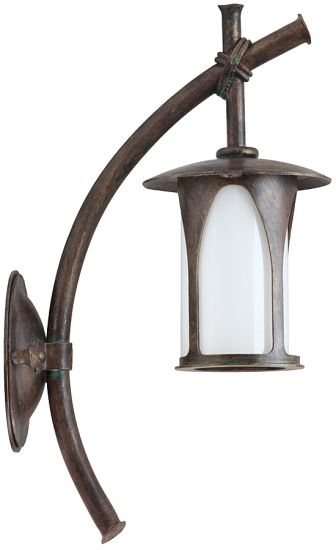 Japanese Style Outdoor Wall Lantern WL 3492 by Robers