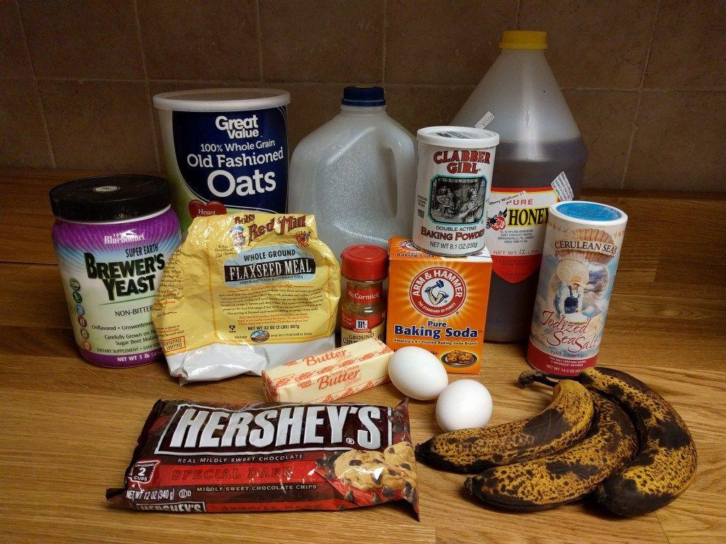 Lactation Banana Bread/Muffin Recipe | Banana bread ...