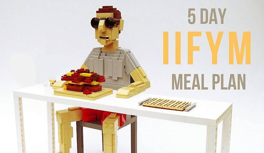healthy eater 5 day macro dieting meal plan