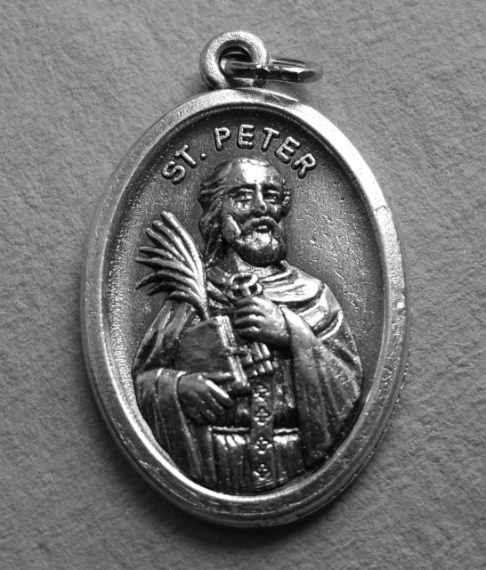 St  Peter Medal | Rosarys, Prayers and Religious Metals | Catholic
