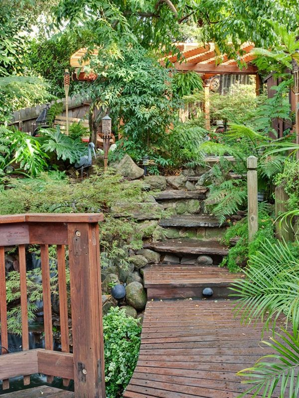 Perfekt Gartengestaltung U2013 15 Ideen Für Tropischen Rückzug In Ihrem Garten