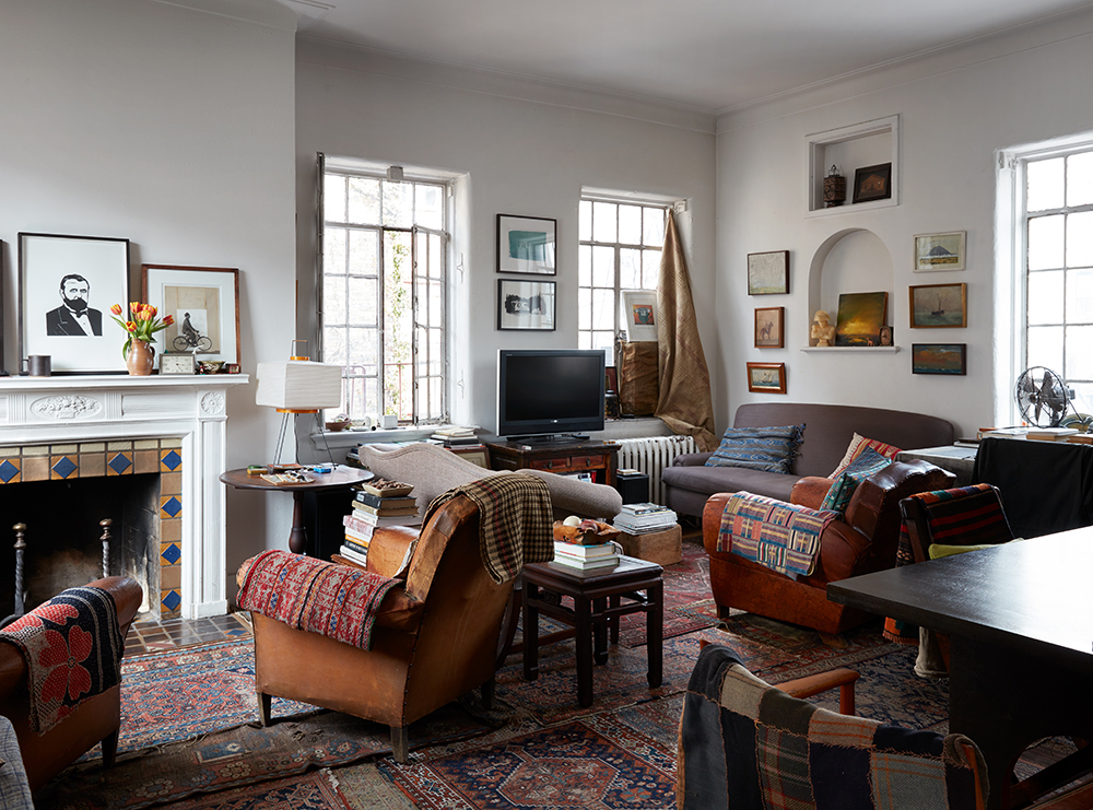 A BookFilled Manhattan Apartment Where Everything Tells a