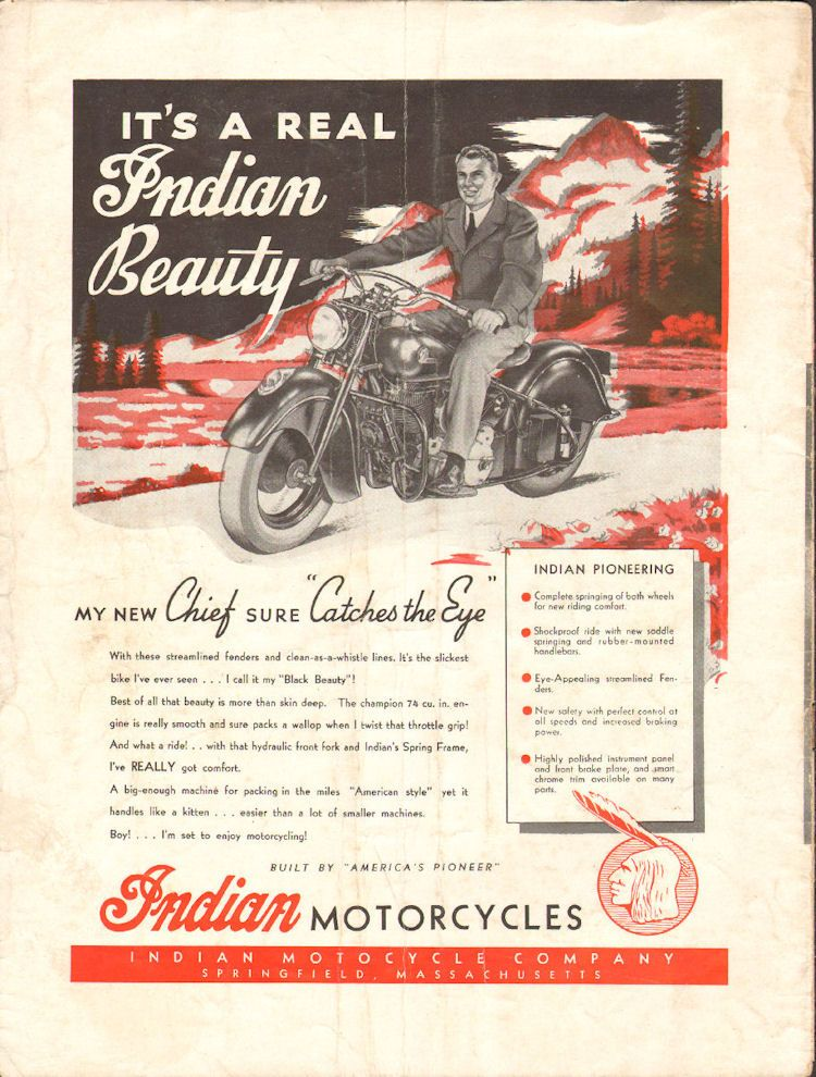1960 Indian - Theres only one Chief! - 11 x 14 Matted
