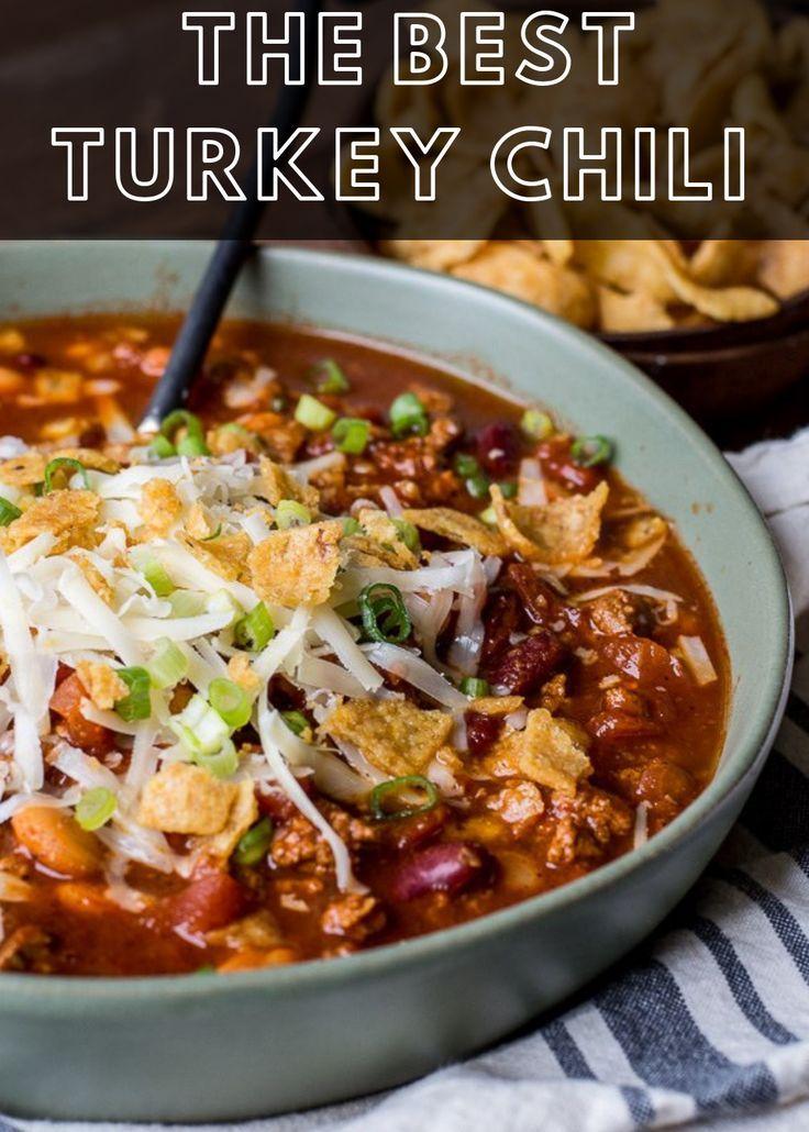 The Best Turkey Chili - Maebells