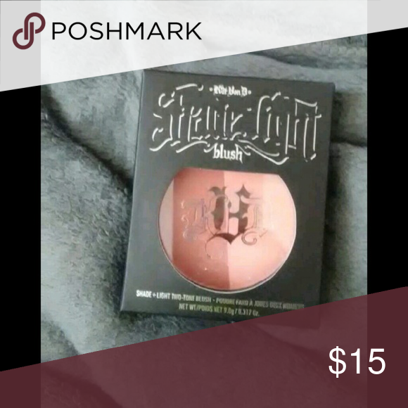 Kat Von D Light + Shade blush Hansel & Gretel New in box.  Two toned shade Kat Von D Makeup Blush