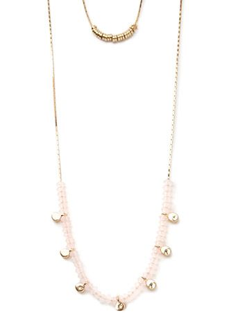 Stacked Charm Layered Necklace | Forever 21 - 1002247262