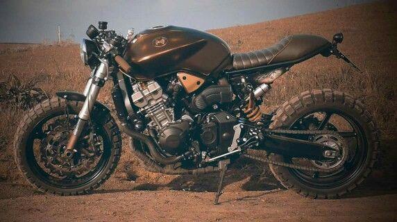 honda hornet scrambler motor pi garage honda motorcycles pinterest. Black Bedroom Furniture Sets. Home Design Ideas