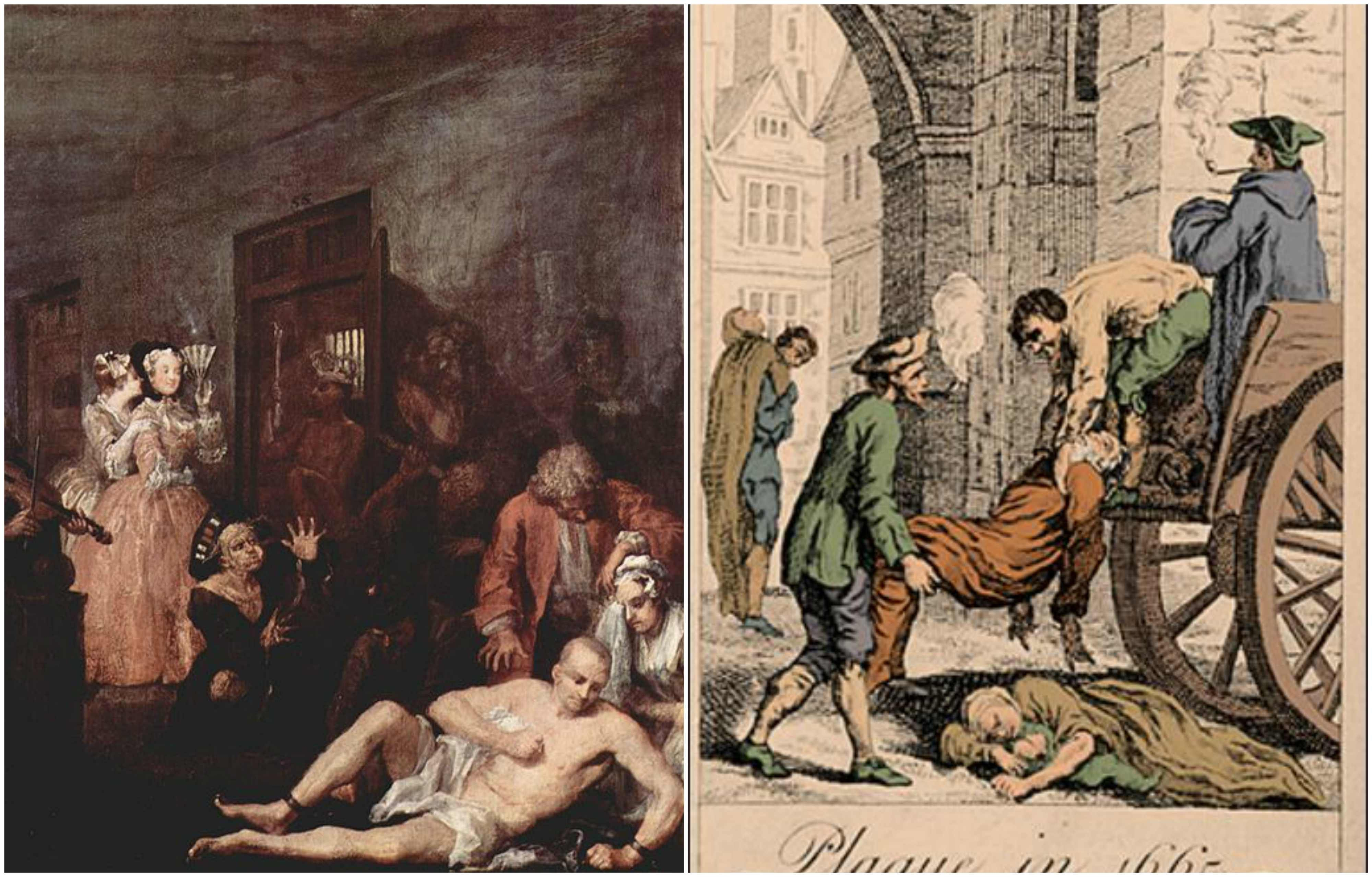 Remains of Great Plague victims discovered underneath London ...