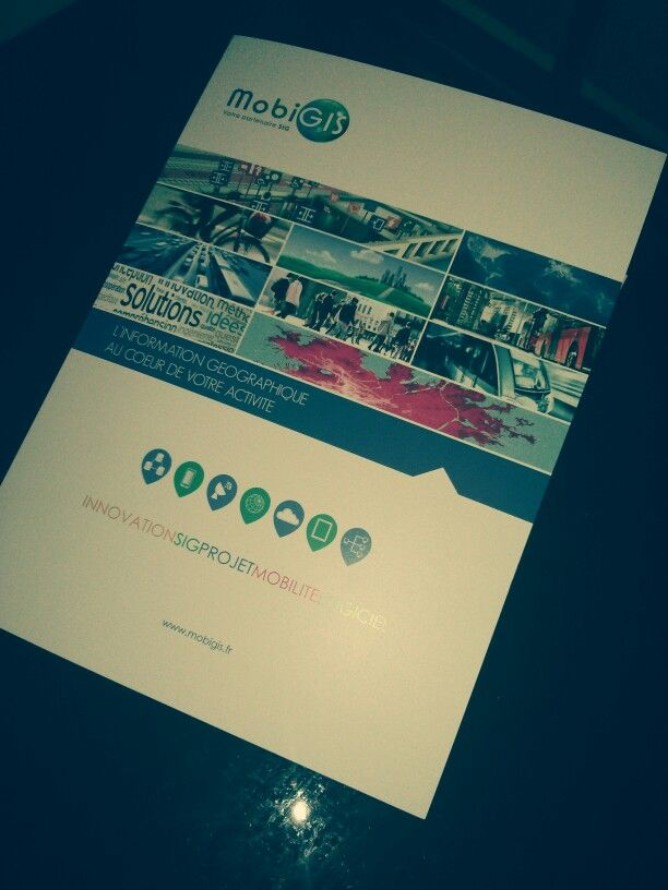 #flyer #brochure #communication #mobigis