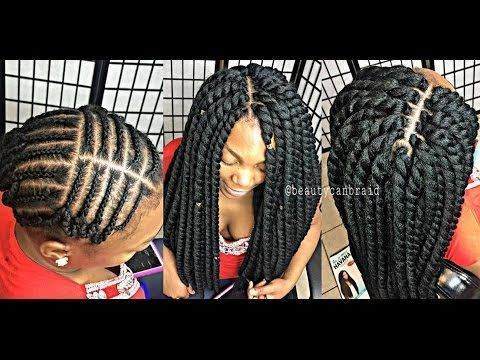 Download Video A Braid Pattern For Crochet Extentions Crochet Braid Pattern Crochet Box Braids Crochet Braids Hairstyles Curls